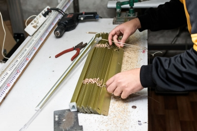 The Manufacturing Process of Wood and Aluminium Blinds